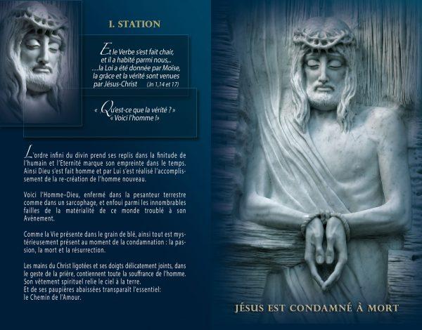 Livret - Lourdes, Chemin de Croix, Chemin de la Resurrection - Maria de Faykod - Pages 10/11