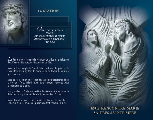 Livret - Lourdes, Chemin de Croix, Chemin de la Resurrection - Maria de Faykod - Pages 16/17