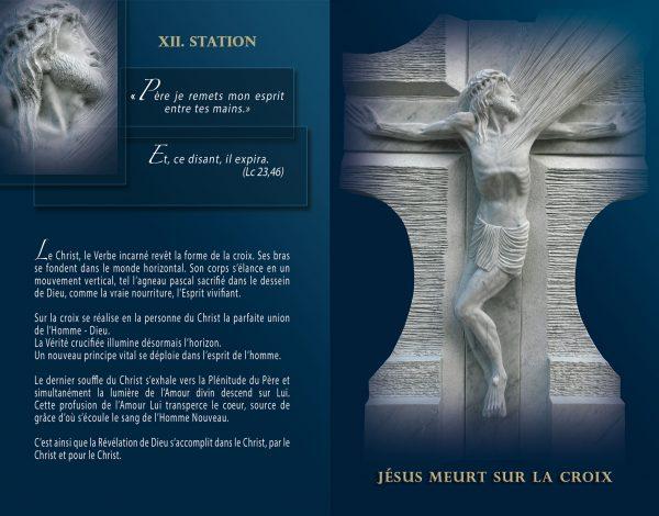 Livret - Lourdes, Chemin de Croix, Chemin de la Resurrection - Maria de Faykod - Pages 32/33