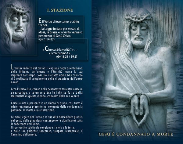 Livret - Lourdes, Via-crucis, Cammino della Risurrezione - Maria de Faykod - Page 10/11