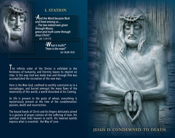Livret - Lourdes - Way of the Cross, Way of the Resurrection - Maria de Faykod - Pages 10/11
